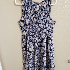 Epic Threads Floral Sleeveless Dress Size Small
